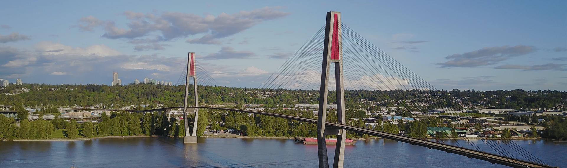 Sky Bridge over Fraser River